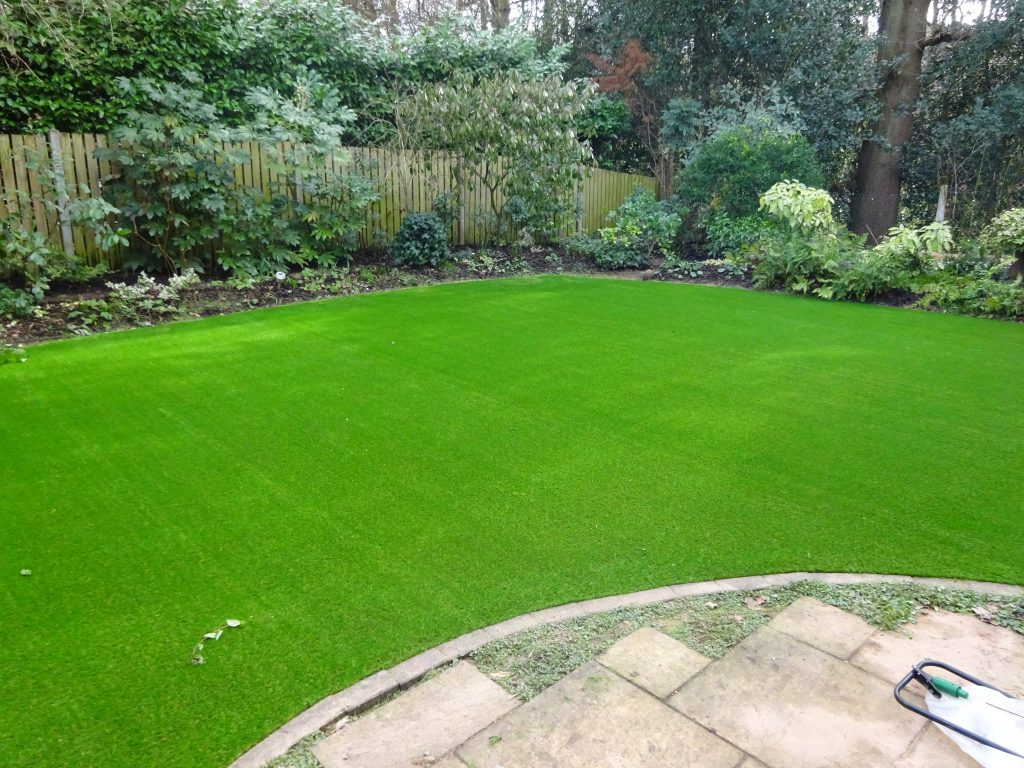 Artificial Grass installed by Acre Driveways