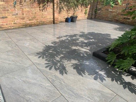 Sunny patio created by Acre Driveways